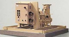 Pumps of the hydroamplifier of a rudder