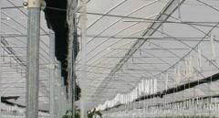 Material de construcción de invernaderos.