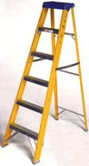 Ladders of glass-fibre-reinforced plastic
