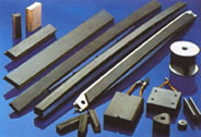 Articles made of siliconized graphite