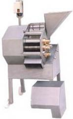 Machines for crushing hard bread