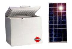 Refrigeradores y congeladores solares.
