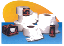 Higienic paper.