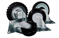 Wheels for tanks and containers