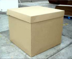 Boxes made of cardboard and thin cardboard