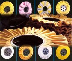 Disks grinding fibre