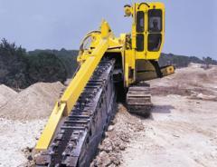 Trench high-speed machines