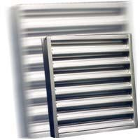 Ventilation channels for air inlet and exhaust