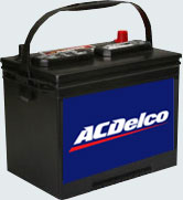 Storage batteries automobile starter