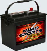 Batteries lead for starter