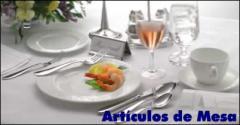 Dishes for bars, restaurants, cafe