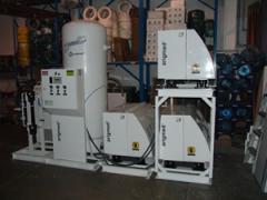 Sistemas para generacion de aire y vacio grado medico