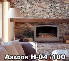 Hogar H 04 asador
