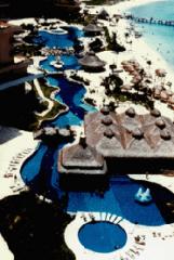 Pools, landscape, natural