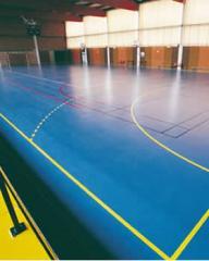 Floor coatings for sport