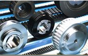 Component parts, accessories for band conveyors