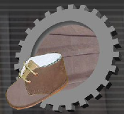 Genuine leather for haberdashery