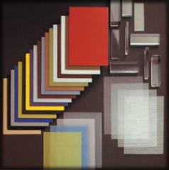 Roofing sheet corrugated, plexiglas (polycarbone