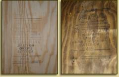 Tableros de madera contrachapada