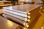 Lozenge corrugated sheet steel