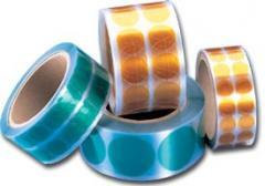 Inserts of polyethylene