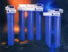 Ultraviolet disinfecting plants for water, air,