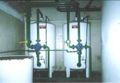 Equipment for public water treatment facilities