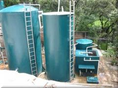 Equipment for biological treatment of sewage water