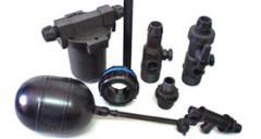 Universal steel framework for polyethylene pipes