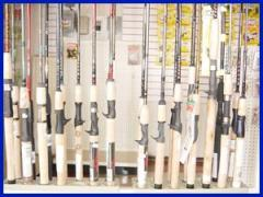Fishing rods, spinning rods