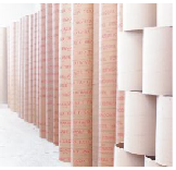Cylinders made of pasteboard