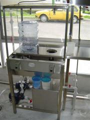 Drinking water bottling line