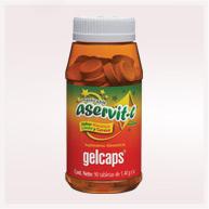 Aservit C con Rose Hips (Vitamina C)