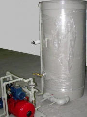 The equipment for physical (nonchemical) water