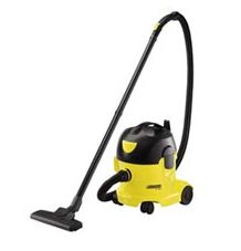 Vacuum cleaners for the cleaning of automobile salons