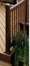 Wooden rails, handrails