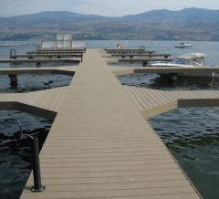 Piers floating, landings