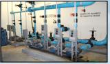 Stations pump hydraulic
