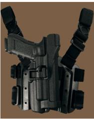 Funda Tática Serpa Nivel 3 para Pistola