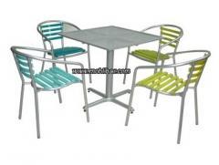Muebles para exteriores y terrazas Colors Pack