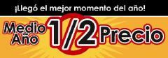 MEDIO AÑO 1/2 DE PRECIO
