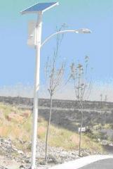 Equipo de iluminación pública con celda solar