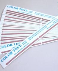 Color test Controles químicos