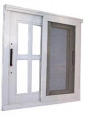 Puertas de cristal entre los cuartos