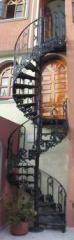 Escalera de Caracol  en Exterior