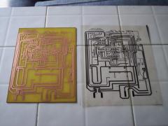 Fabricación de tarjetas electrónicas.