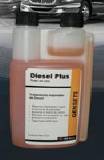 Adiciones en el combustible Diesel