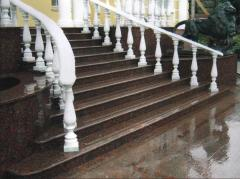 Los escaleras y detalles
