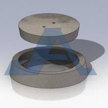 Tapa y brocal de concreto