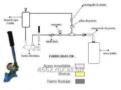 Bombas hidrostaticas manuales